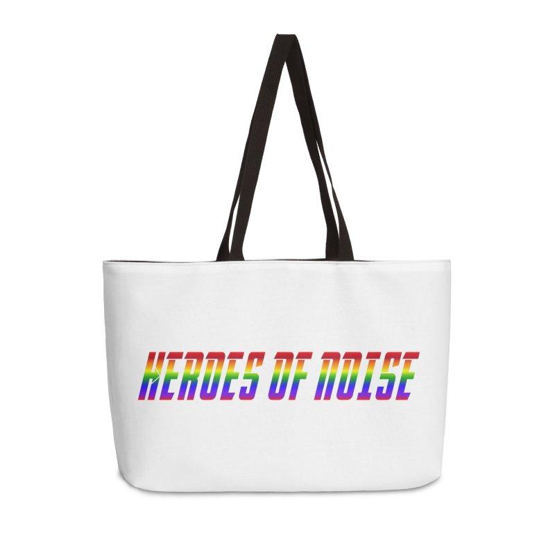 Heroes Of Noise Pride Design Accessories Weekender Bag Bag by Heroes of Noise Artist Shop