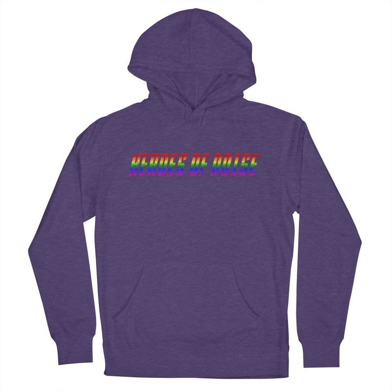 Heroes Of Noise Pride Design Men's French Terry Pullover Hoody by Heroes of Noise Artist Shop