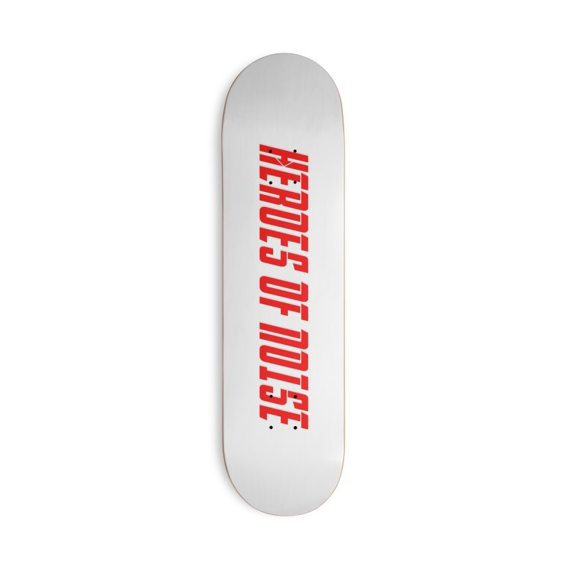 HON Font Logo Accessories Skateboard by Heroes of Noise Artist Shop