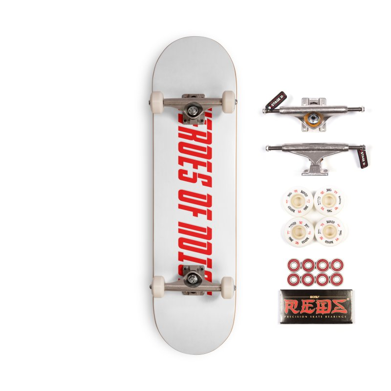 HON Font Logo Accessories Complete - Pro Skateboard by Heroes of Noise Artist Shop