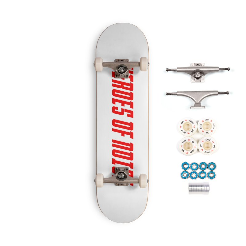 HON Font Logo Accessories Complete - Premium Skateboard by Heroes of Noise Artist Shop