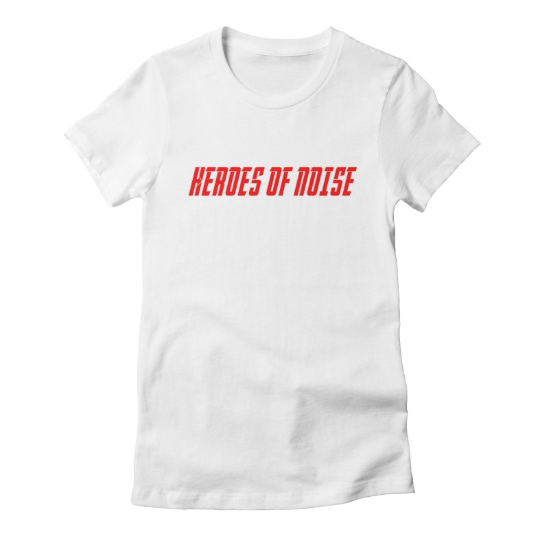 HON Font Logo Women's Fitted T-Shirt by Heroes of Noise Artist Shop