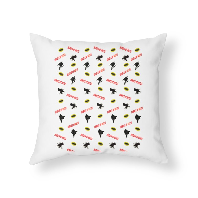 HON Collage Home Throw Pillow by Heroes of Noise Artist Shop
