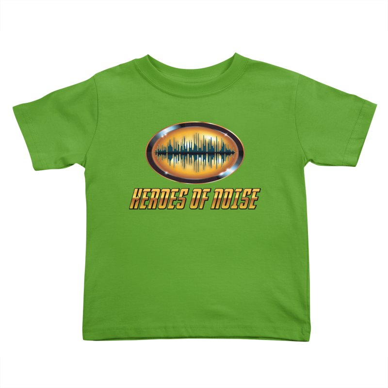 HON Bat Wave Kids Toddler T-Shirt by Heroes of Noise Artist Shop