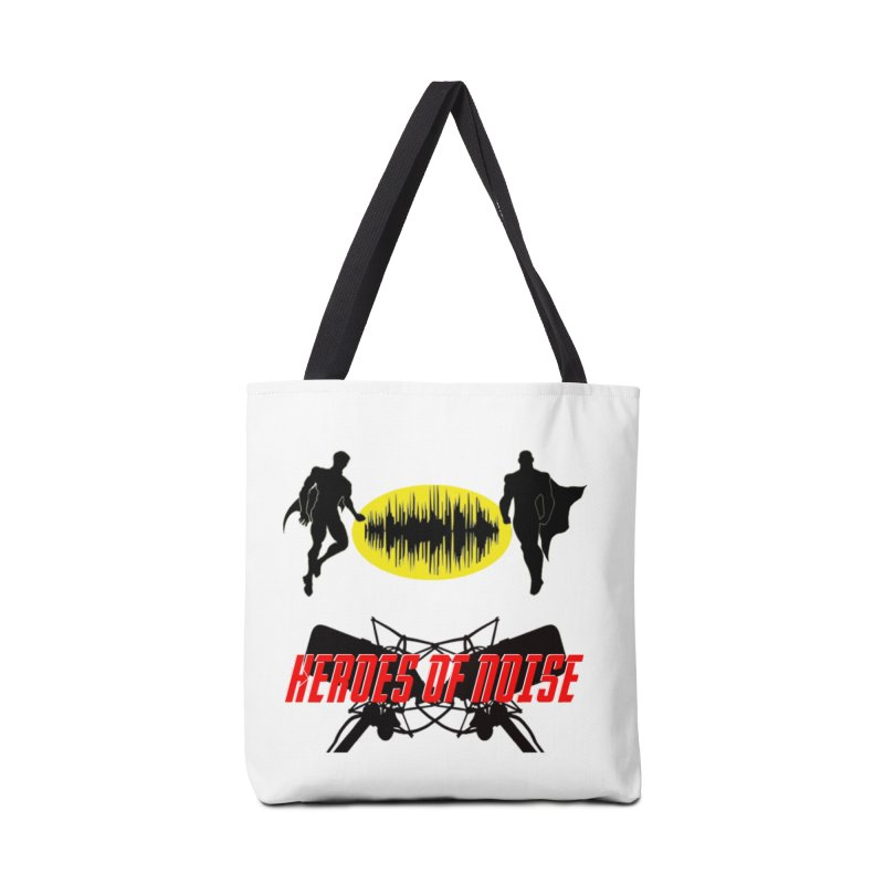 Heroes of Noise Podcast Logo Accessories Tote Bag Bag by Heroes of Noise Artist Shop
