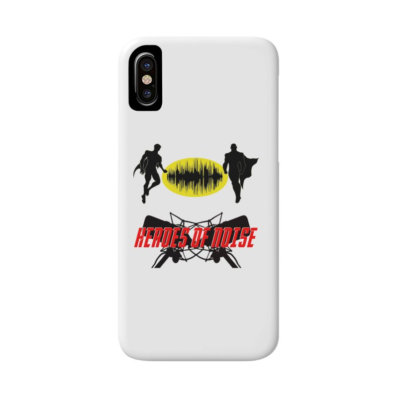 Heroes of Noise Podcast Logo Accessories Phone Case by Heroes of Noise Artist Shop