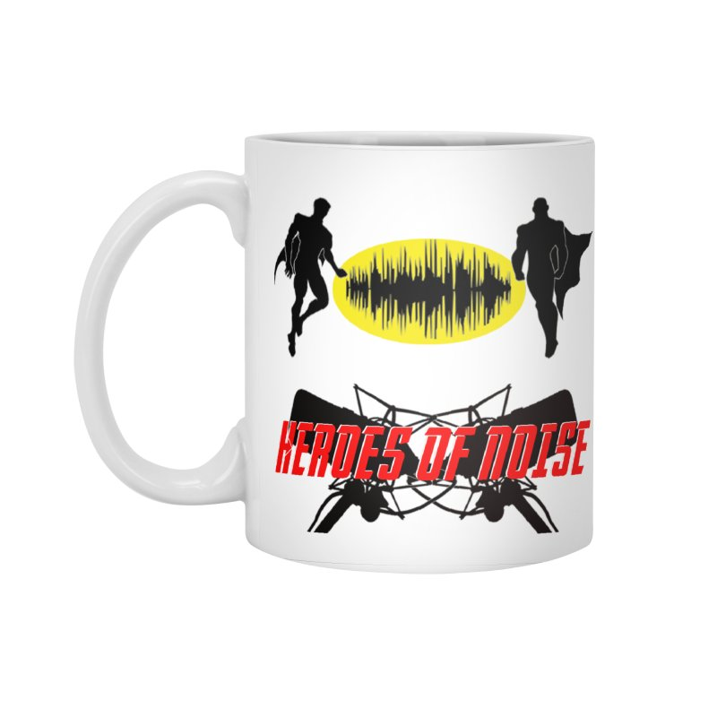 Heroes of Noise Podcast Logo Accessories Standard Mug by Heroes of Noise Artist Shop