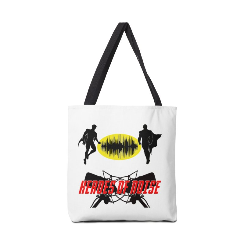 Heroes of Noise Podcast Logo Accessories Bag by Heroes of Noise Artist Shop