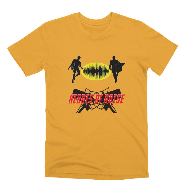 Heroes of Noise Podcast Logo Men's Premium T-Shirt by Heroes of Noise Artist Shop