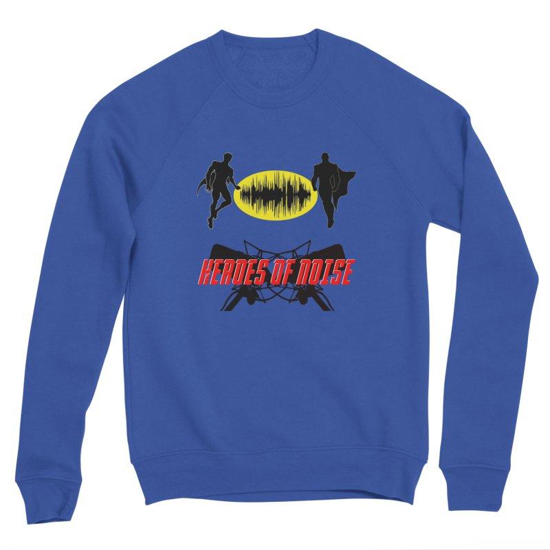 Heroes of Noise Podcast Logo Women's Sponge Fleece Sweatshirt by Heroes of Noise Artist Shop