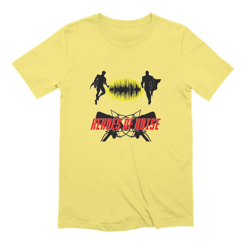 Heroes of Noise Podcast Logo Men's Extra Soft T-Shirt by Heroes of Noise Artist Shop