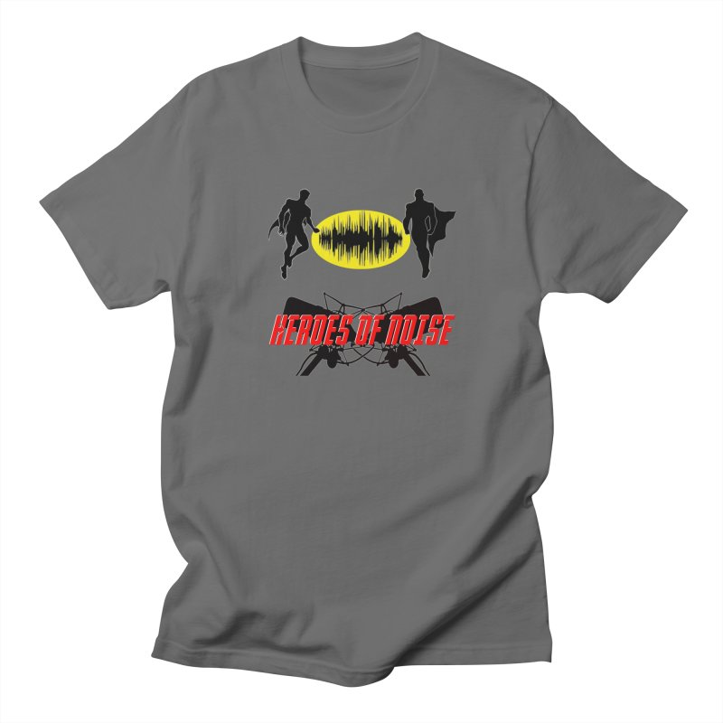 Heroes of Noise Podcast Logo Men's T-Shirt by Heroes of Noise Artist Shop