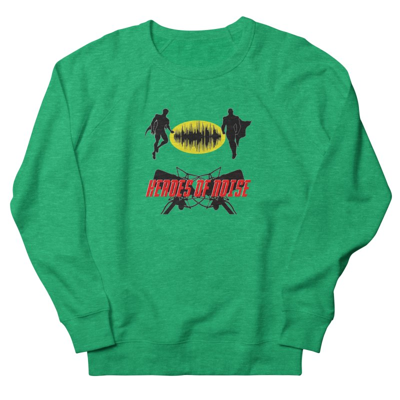 Heroes of Noise Podcast Logo Women's Sweatshirt by Heroes of Noise Artist Shop