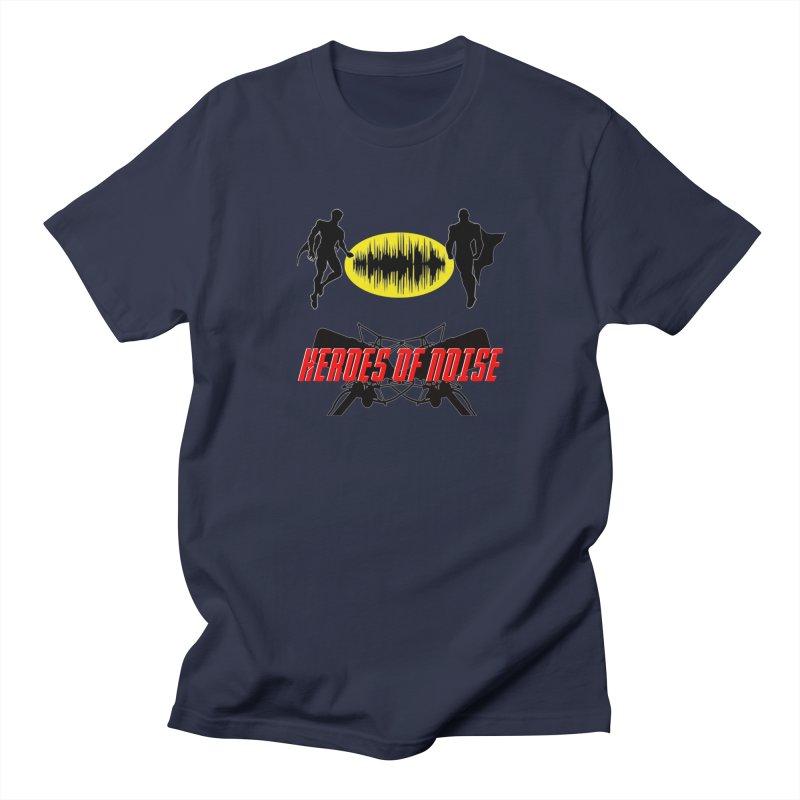 Heroes of Noise Podcast Logo Women's Regular Unisex T-Shirt by Heroes of Noise Artist Shop