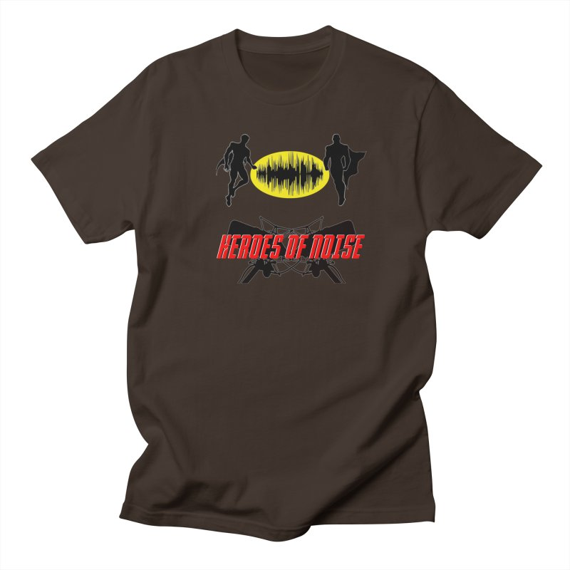 Heroes of Noise Podcast Logo Men's Regular T-Shirt by Heroes of Noise Artist Shop