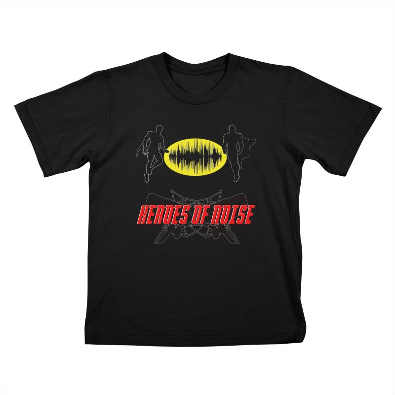 Heroes of Noise Podcast Logo Kids T-Shirt by Heroes of Noise Artist Shop