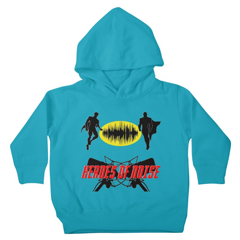 Heroes of Noise Podcast Logo Kids Toddler Pullover Hoody by Heroes of Noise Artist Shop