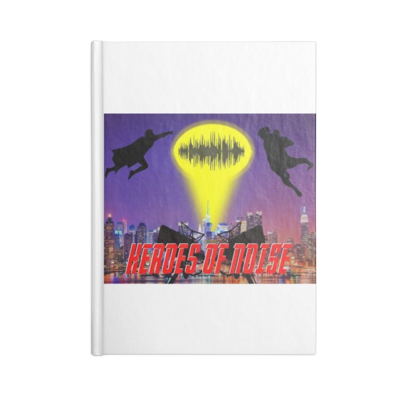 Heroes of Noise Take Flight Accessories Blank Journal Notebook by Heroes of Noise Artist Shop
