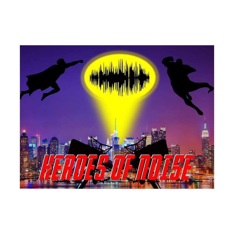 Heroes of Noise Take Flight Home Bath Mat by Heroes of Noise Artist Shop
