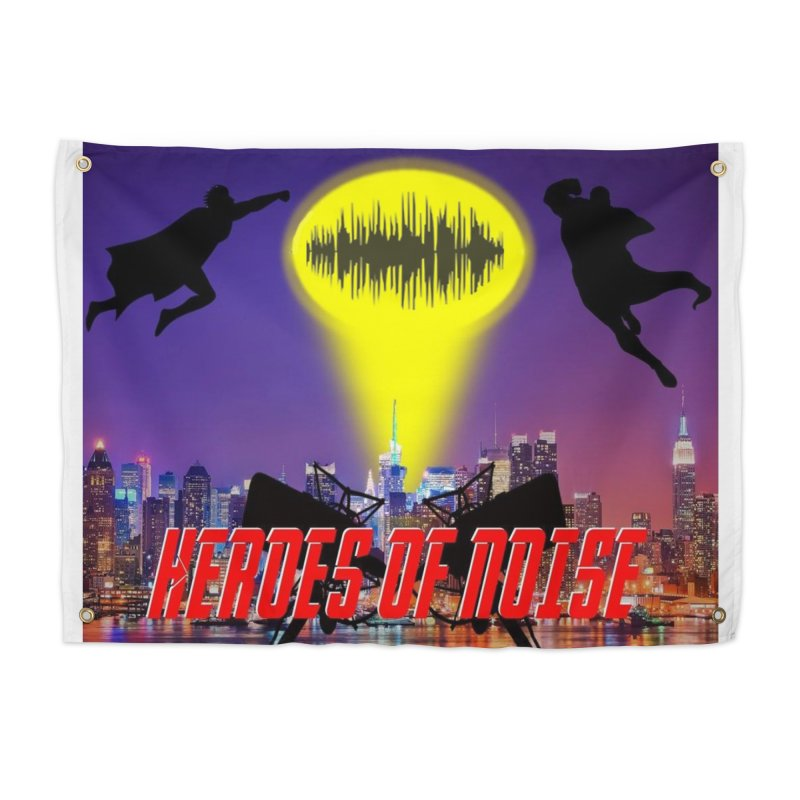 Heroes of Noise Take Flight Home Tapestry by Heroes of Noise Artist Shop