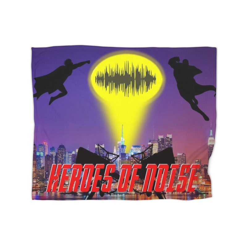 Heroes of Noise Take Flight Home Fleece Blanket Blanket by Heroes of Noise Artist Shop