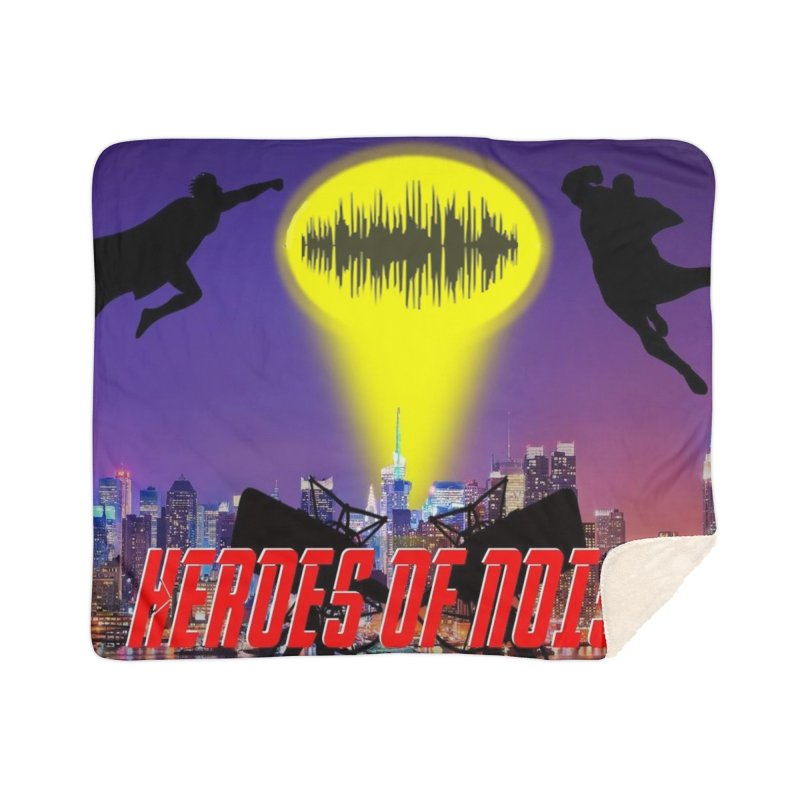 Heroes of Noise Take Flight Home Sherpa Blanket Blanket by Heroes of Noise Artist Shop