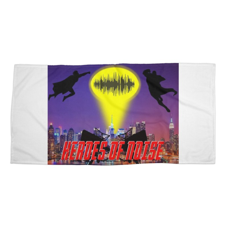 Heroes of Noise Take Flight Accessories Beach Towel by Heroes of Noise Artist Shop