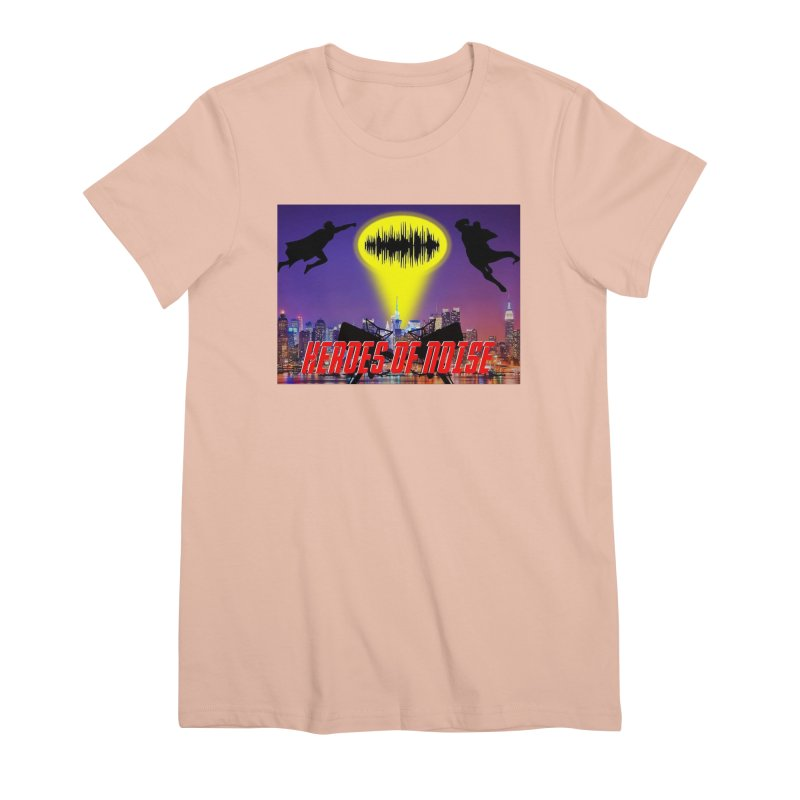 Heroes of Noise Take Flight Women's Premium T-Shirt by Heroes of Noise Artist Shop