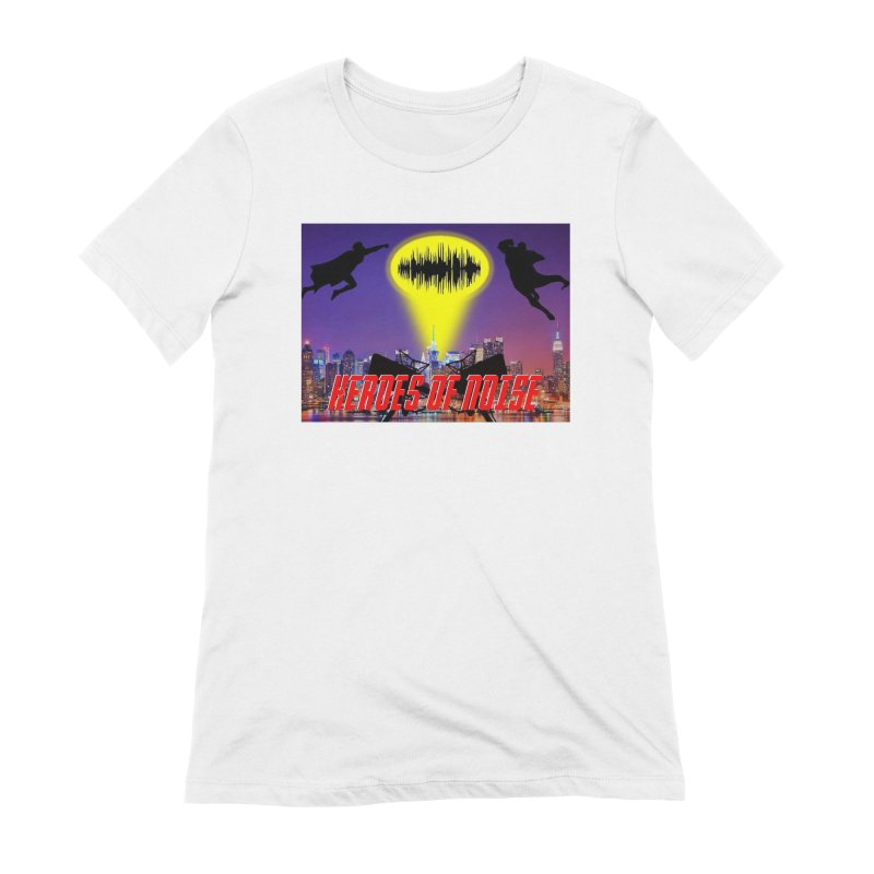 Heroes of Noise Take Flight Women's Extra Soft T-Shirt by Heroes of Noise Artist Shop