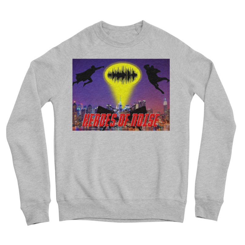 Heroes of Noise Take Flight Women's Sponge Fleece Sweatshirt by Heroes of Noise Artist Shop