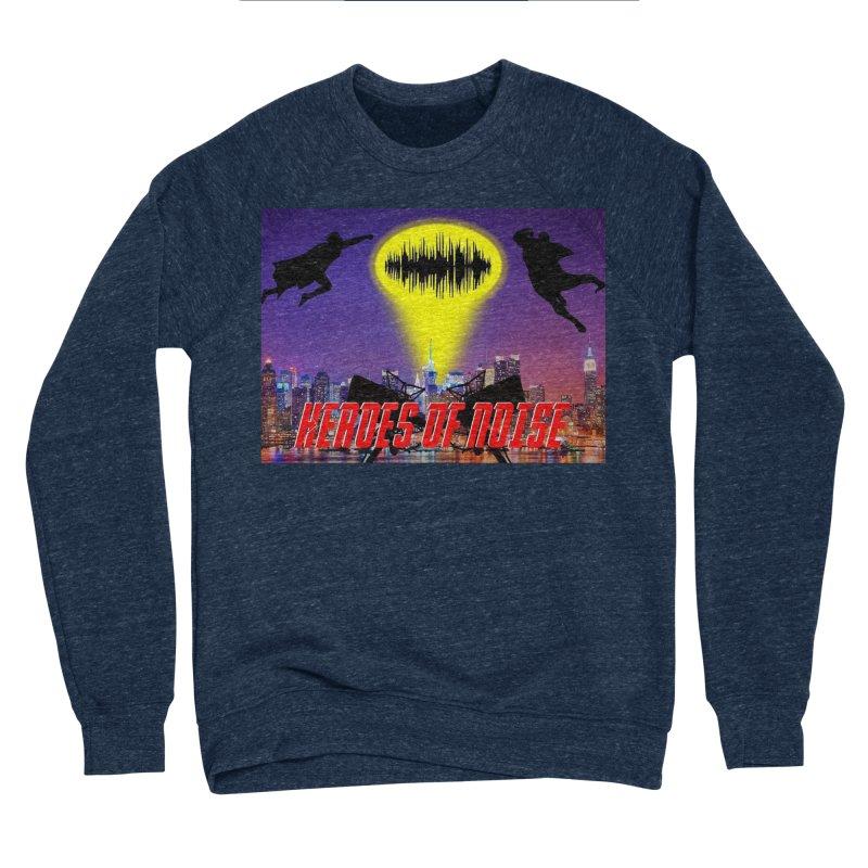 Heroes of Noise Take Flight Women's Sponge Fleece Sweatshirt by Heroes of Noise Artist Shop