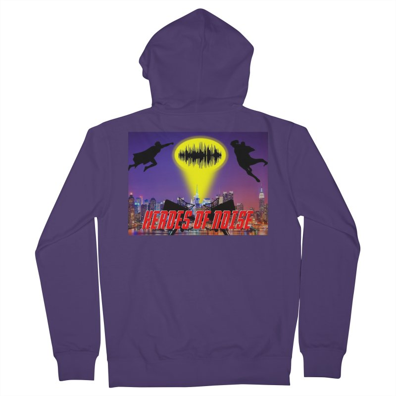 Heroes of Noise Take Flight Women's French Terry Zip-Up Hoody by Heroes of Noise Artist Shop