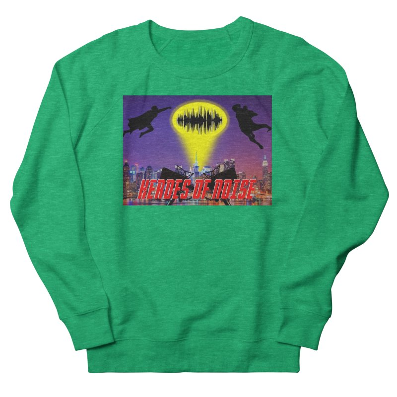 Heroes of Noise Take Flight Men's French Terry Sweatshirt by Heroes of Noise Artist Shop