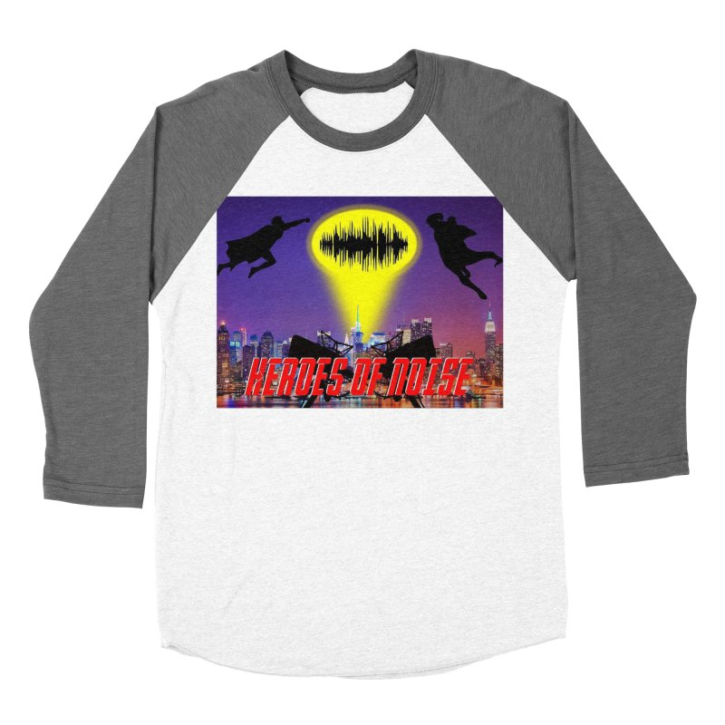 Heroes of Noise Take Flight Men's Baseball Triblend Longsleeve T-Shirt by Heroes of Noise Artist Shop