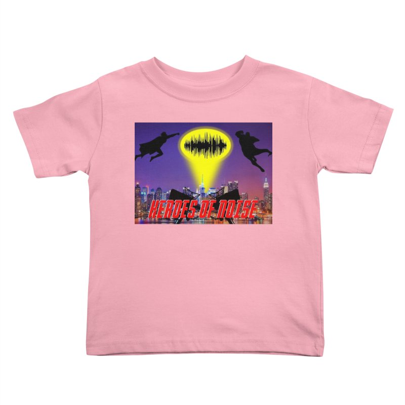 Heroes of Noise Take Flight Kids Toddler T-Shirt by Heroes of Noise Artist Shop