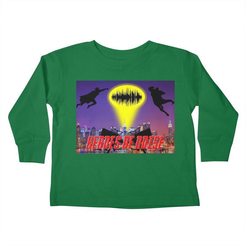 Heroes of Noise Take Flight Kids Toddler Longsleeve T-Shirt by Heroes of Noise Artist Shop