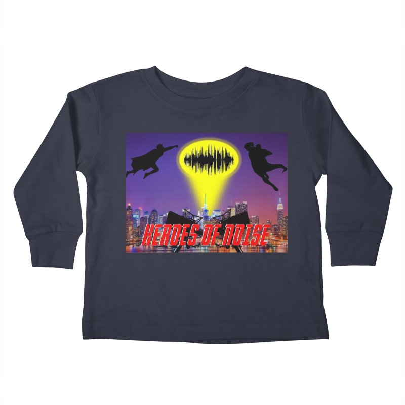 Heroes of Noise Take Flight Kids Toddler Longsleeve T-Shirt by Heroes of Noise Artist Shop
