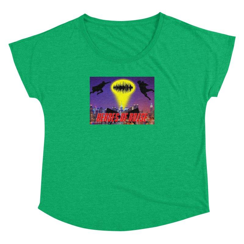 Heroes of Noise Take Flight Women's Dolman Scoop Neck by Heroes of Noise Artist Shop