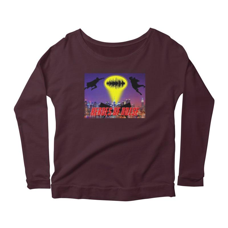 Heroes of Noise Take Flight Women's Scoop Neck Longsleeve T-Shirt by Heroes of Noise Artist Shop