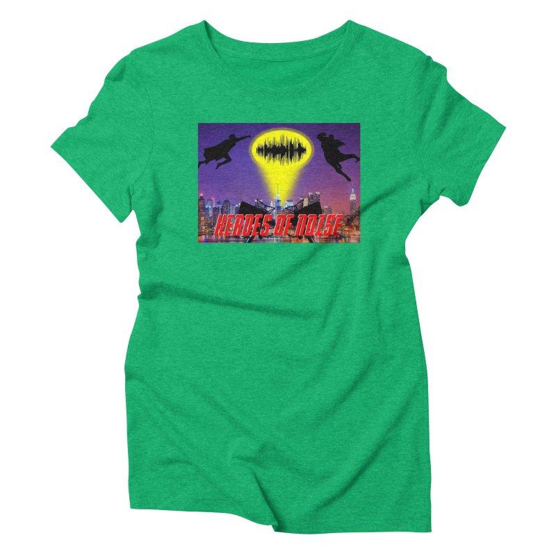 Heroes of Noise Take Flight Women's Triblend T-Shirt by Heroes of Noise Artist Shop