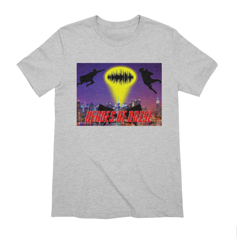 Heroes of Noise Take Flight Men's Extra Soft T-Shirt by Heroes of Noise Artist Shop