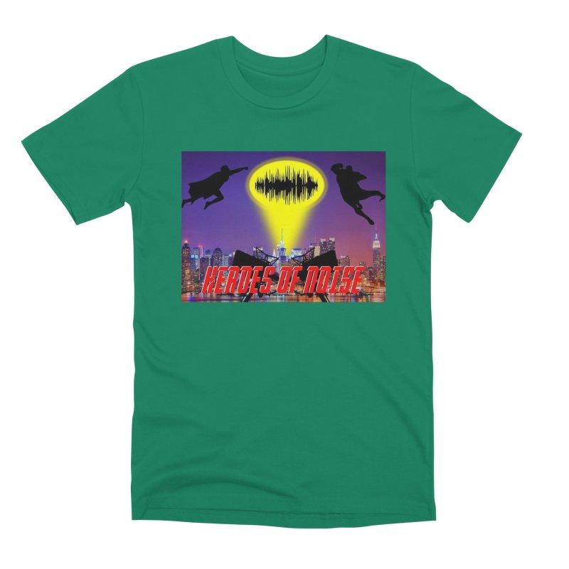 Heroes of Noise Take Flight Men's Premium T-Shirt by Heroes of Noise Artist Shop