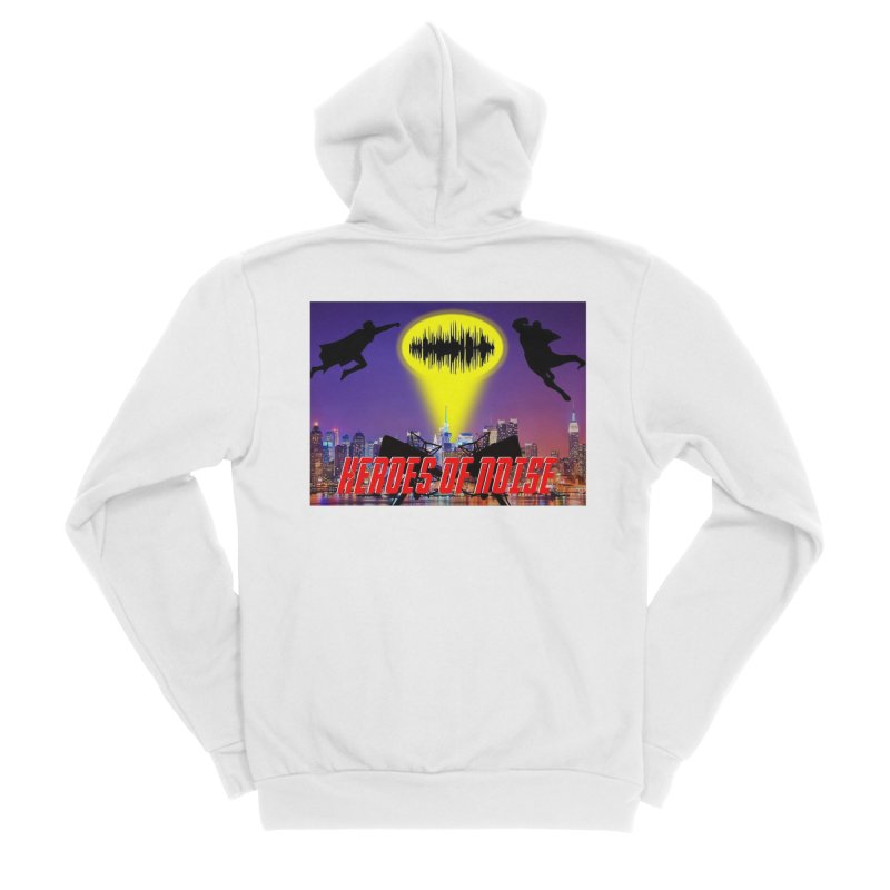Heroes of Noise Take Flight Women's Sponge Fleece Zip-Up Hoody by Heroes of Noise Artist Shop