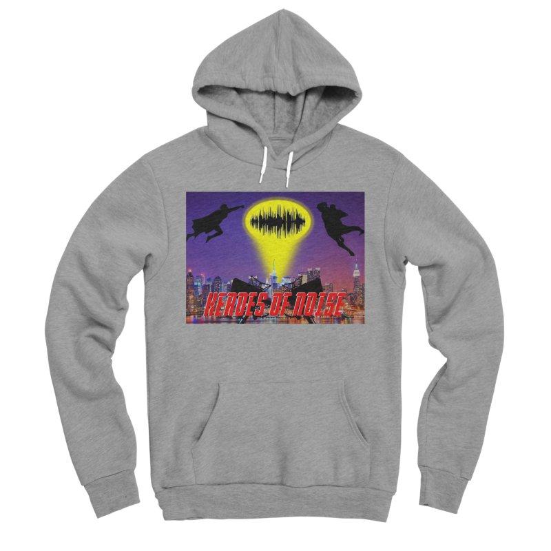 Heroes of Noise Take Flight Men's Sponge Fleece Pullover Hoody by Heroes of Noise Artist Shop