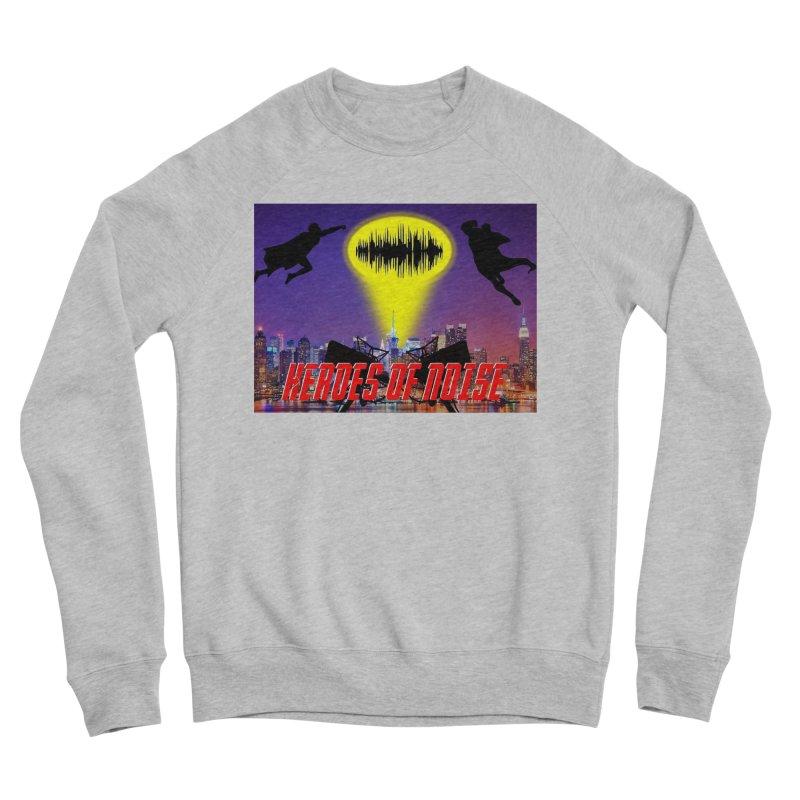 Heroes of Noise Take Flight Men's Sponge Fleece Sweatshirt by Heroes of Noise Artist Shop