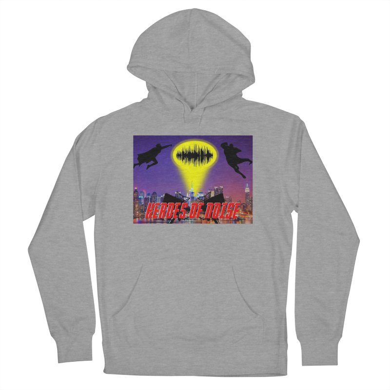 Heroes of Noise Take Flight Men's French Terry Pullover Hoody by Heroes of Noise Artist Shop