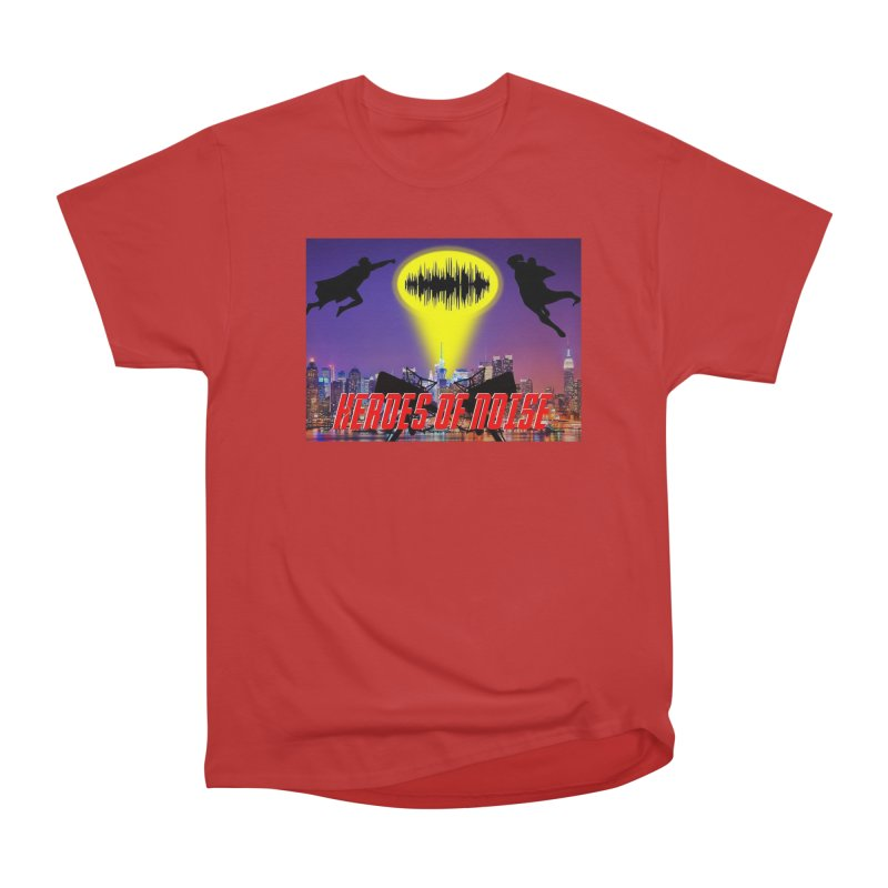 Heroes of Noise Take Flight Men's Heavyweight T-Shirt by Heroes of Noise Artist Shop