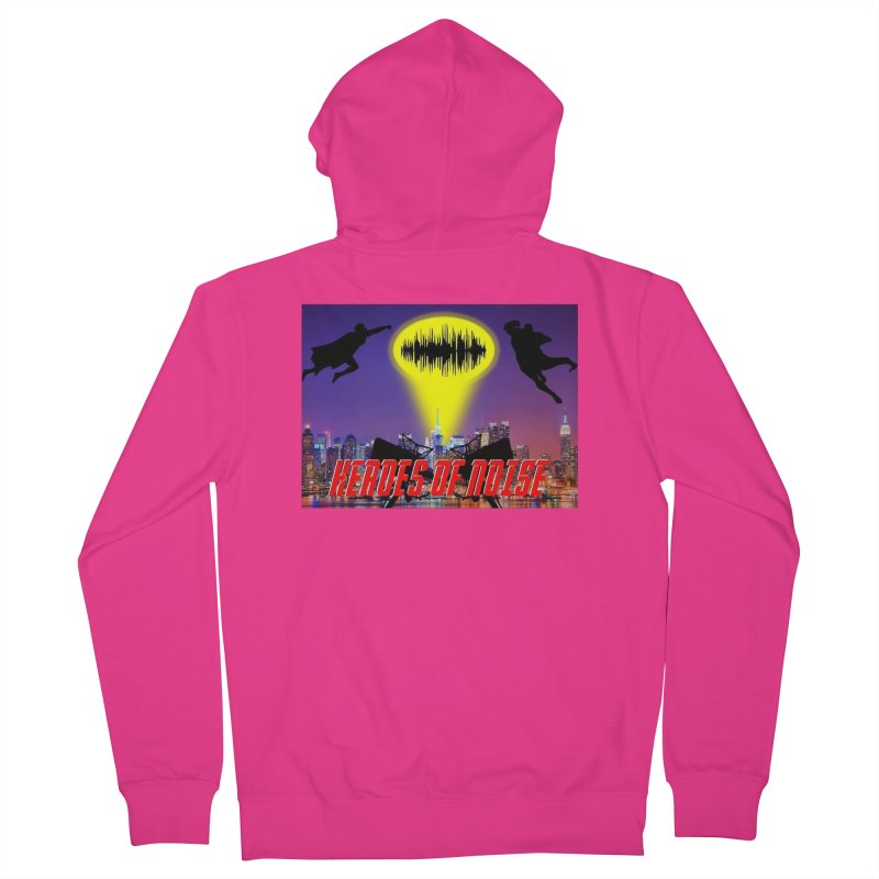 Heroes of Noise Take Flight Men's French Terry Zip-Up Hoody by Heroes of Noise Artist Shop