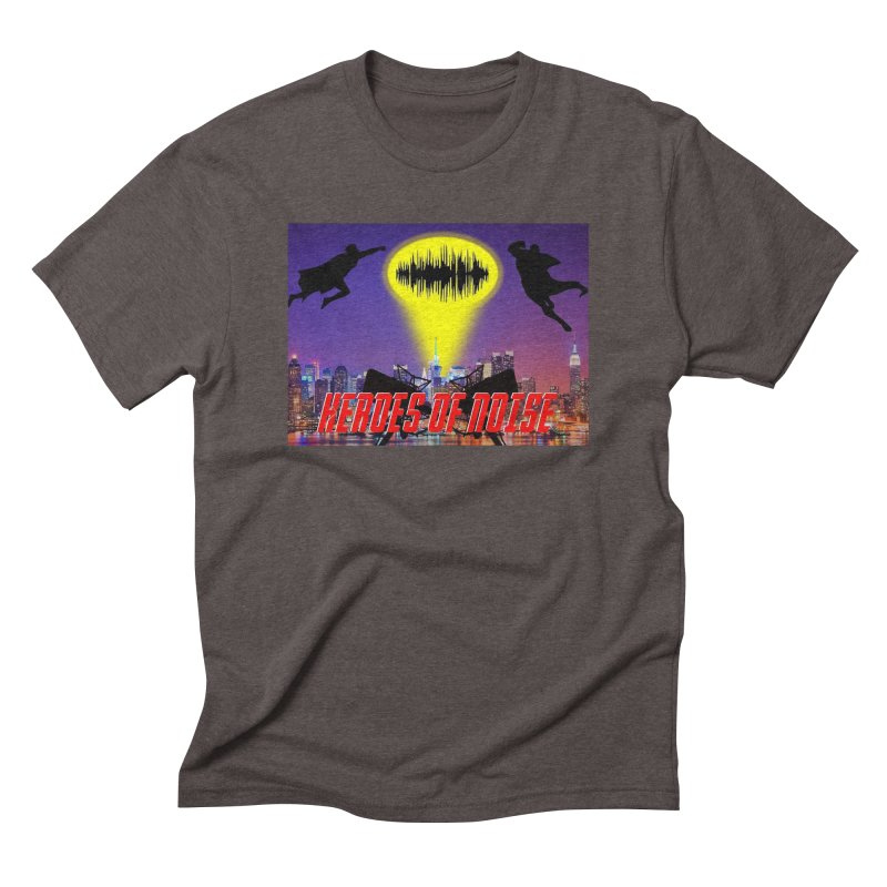 Heroes of Noise Take Flight Men's Triblend T-Shirt by Heroes of Noise Artist Shop