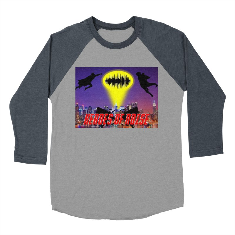 Heroes of Noise Take Flight Men's Baseball Triblend Longsleeve T-Shirt by Heroes of Noise Artist Shop